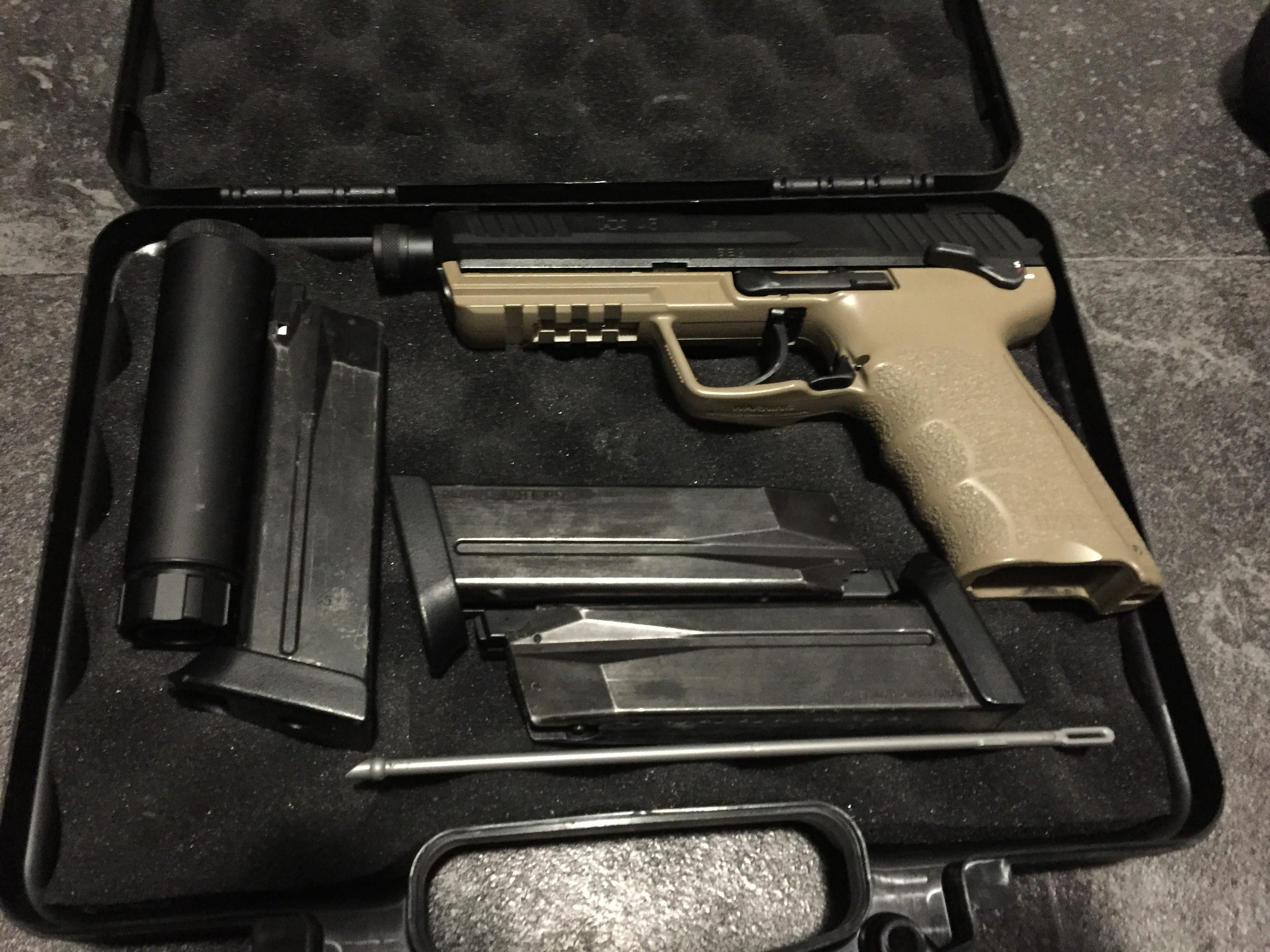 TM HK45 Tactical - Airsoft Nation