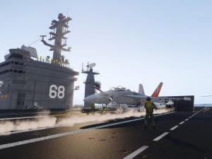 USS Nimitz provides support to Operation Tamar in Eastern Mediterranean 649440E6-41AE-488F-AE81-62A2