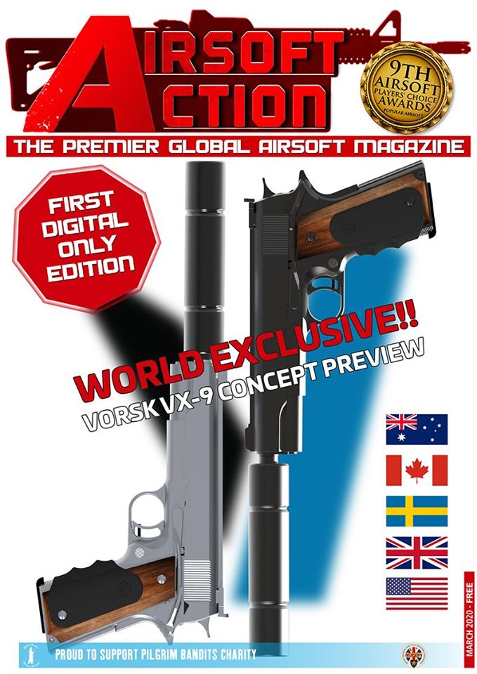Airsoft Action Magazine - March Edition