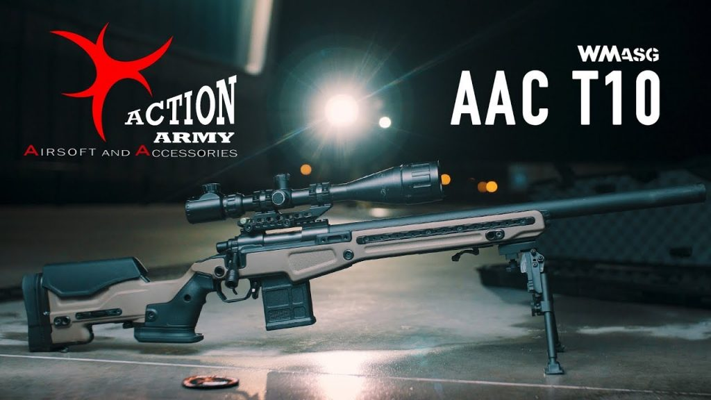 Action Army AAC T10 Sniper Rifle